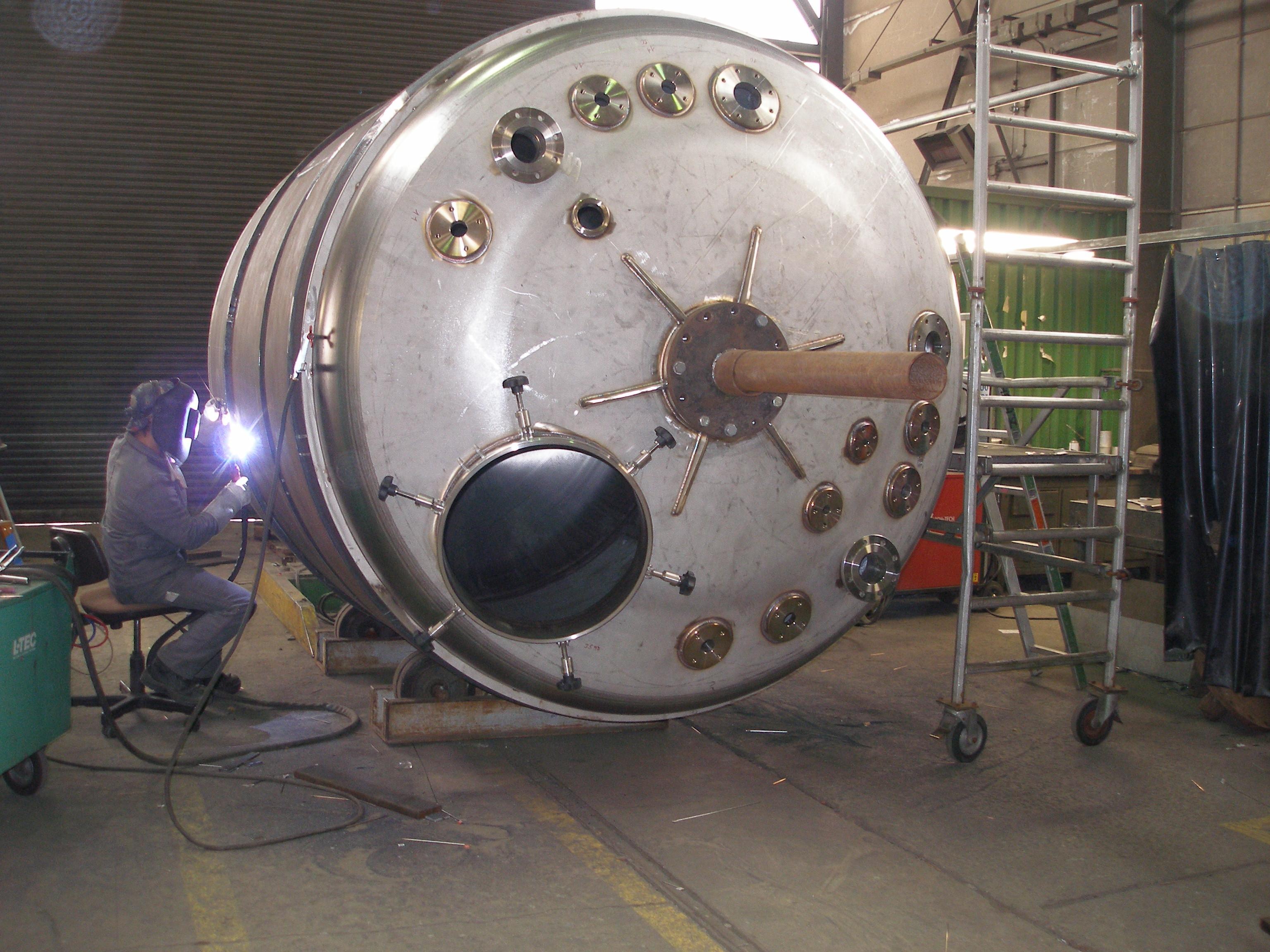 Druckbehälterbau Stahlbau Karl Henrich Stahl- und Rohrleitungsbau GmbH